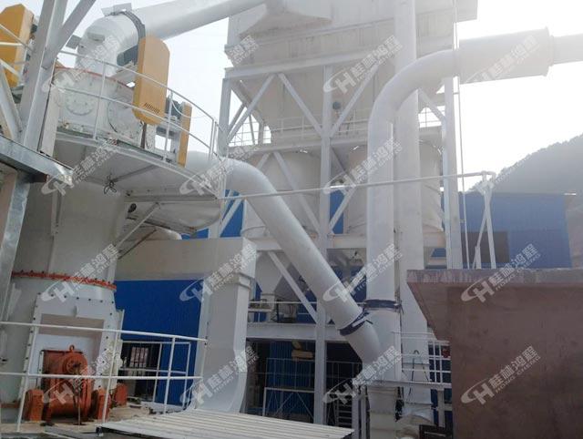 納米超細磨HLMX1100碳酸鈣立式磨粉機