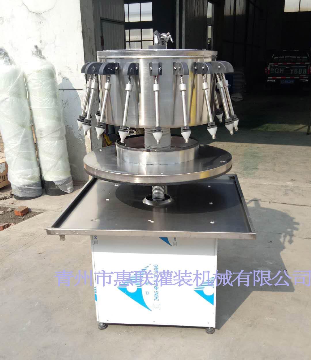 料酒灌装机 液体调味品灌装设备 半自动