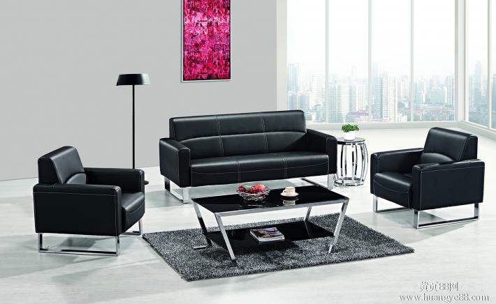 哈尔滨办公家具的销售模式选择时尚皮质沙发-哈尔滨全优办公家具