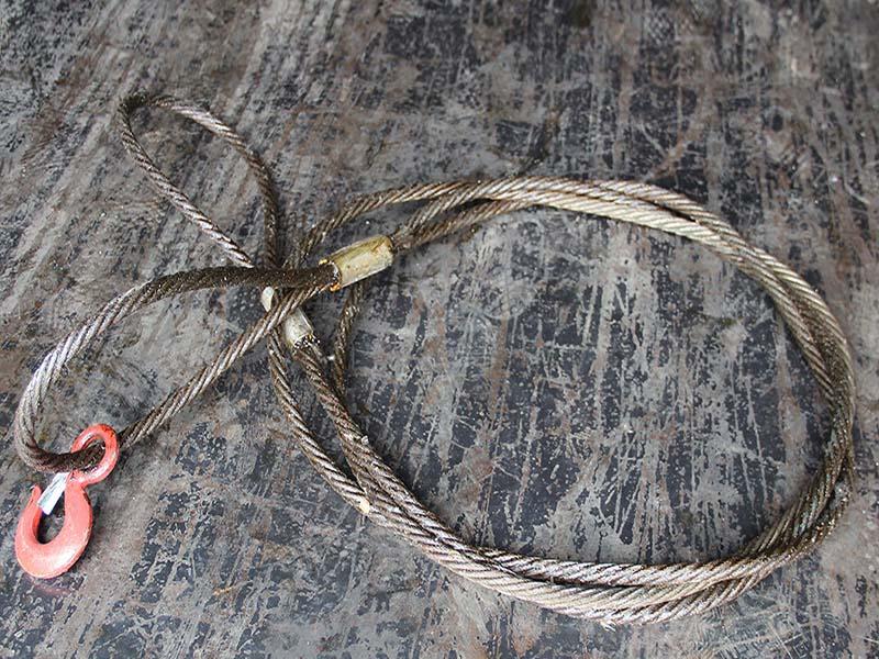 陕西永合永立插编钢丝绳价格如何?西安钢丝绳套上哪买?