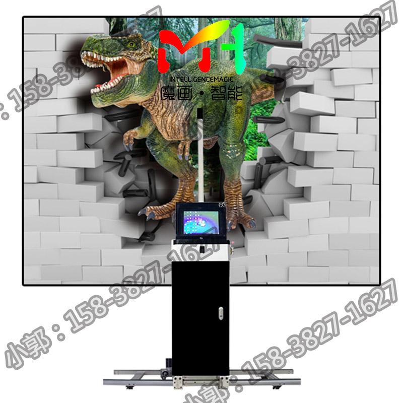 3D彩绘机可以自动作画,画面逼真不褪色,这样的机器多少钱呢