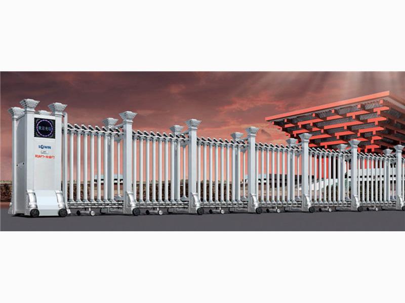 甘肃伸缩门价格-哪里有卖高质量的兰州电动伸缩门