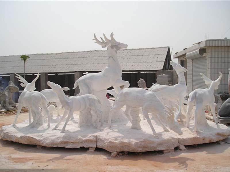 动物石雕-出售河北石雕动物