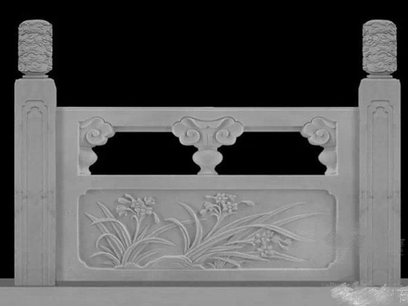 石栏杆雕塑制工厂|翰锦_优良石雕栏杆供应商