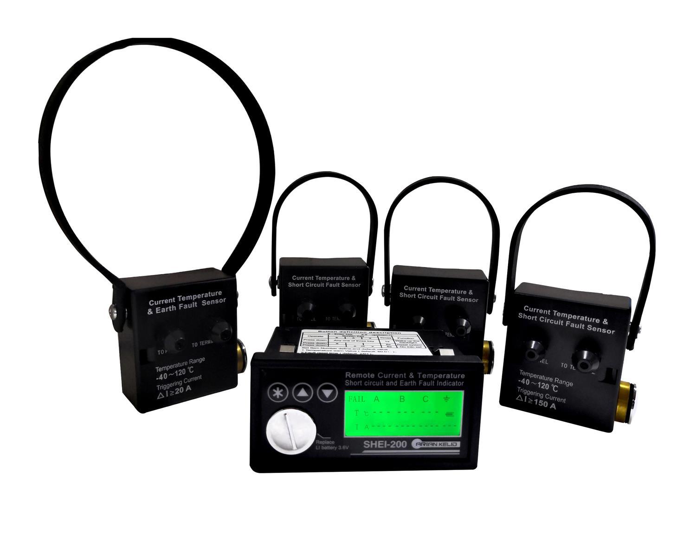 电缆电流温度及故障在线监测仪