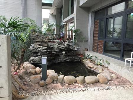 重庆私家花园施工