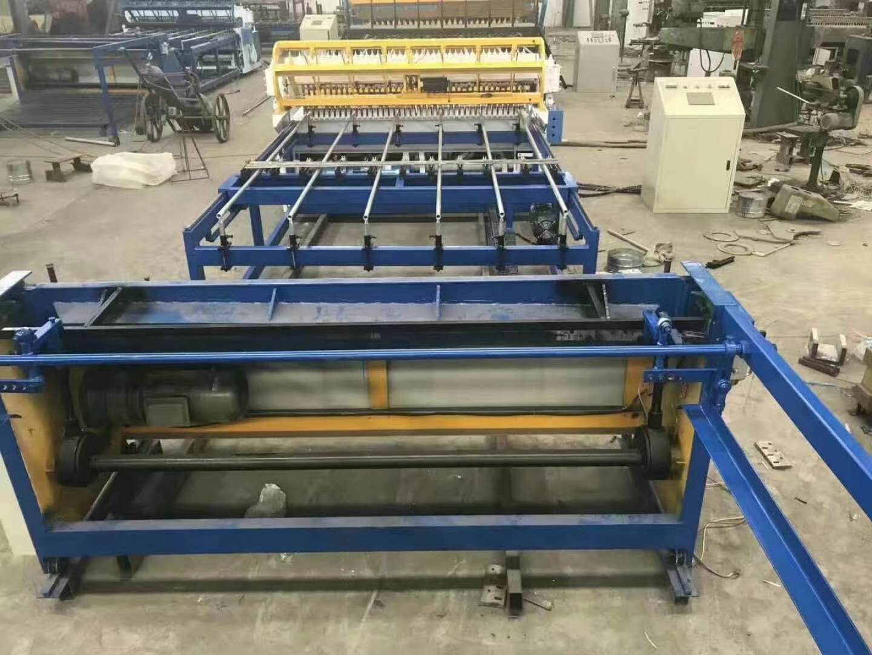 铁丝网片焊网机 全自动地暖网焊接机器厂家 恒泰小型细丝舒乐板