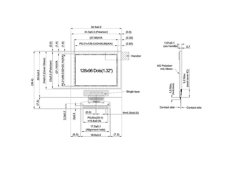 深圳可靠的12896 OLED液晶模组供应商推荐|oled屏厂家