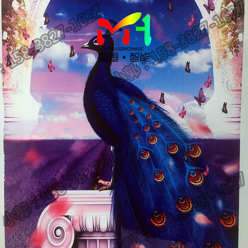 天津室内喷绘机-在哪可以买到3D墙体彩绘机