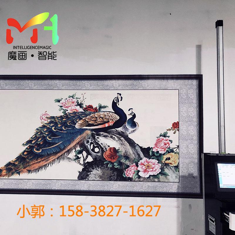 室内喷绘机加工|郑州高品质3D墙体彩绘机出售