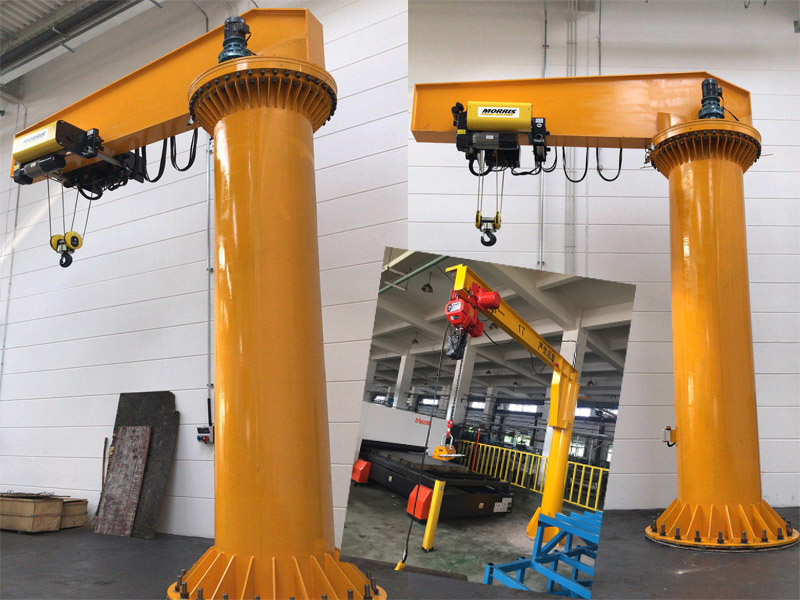 电动旋臂吊安装-专业的定柱式旋臂起重机供货商