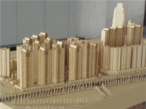 沙盤模型設計哪家專業/售樓模型設計效果圖/怡景建筑模型設計