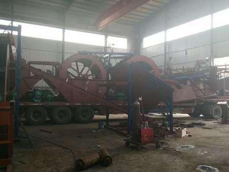制砂机订制+制砂机哪家好?制砂机生产厂家—青州海天挖沙