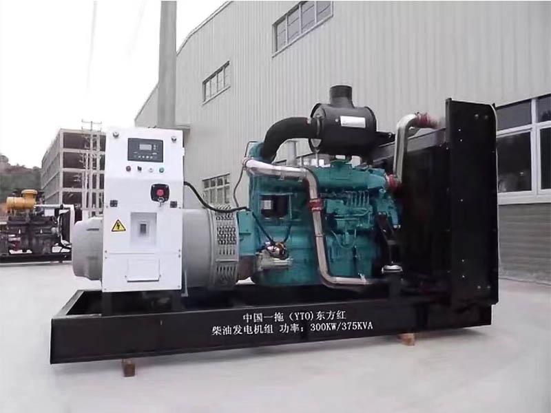 玉柴300KW發電機組