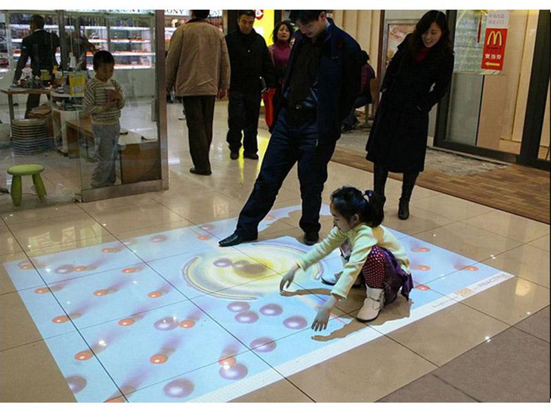 地面互动投影-广州有品质的地面投影