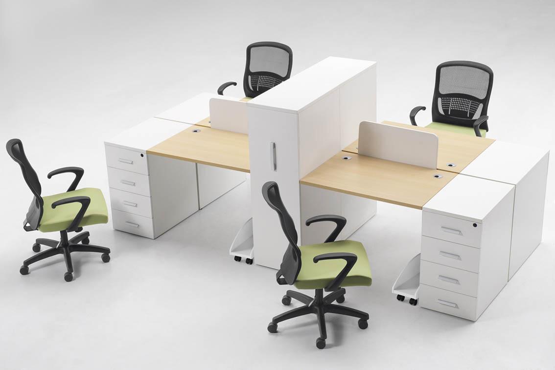 哈尔滨办公桌椅 黑龙江实木办公桌椅 哈尔滨屏风桌椅