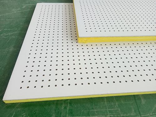 沖孔吸音板的安裝流程  廊坊屹晟建材廠家