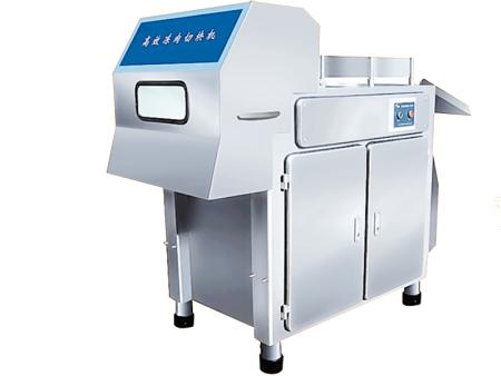 冻肉切丁机制造商——正佳冻肉切丁机生产厂家