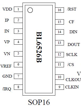 贝岭BL6526B单相多功能电子电能计量芯片就找凯特瑞