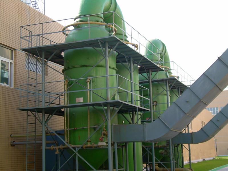 玻璃钢砖厂除尘脱硫塔_脱硫塔除尘设备-生产厂家