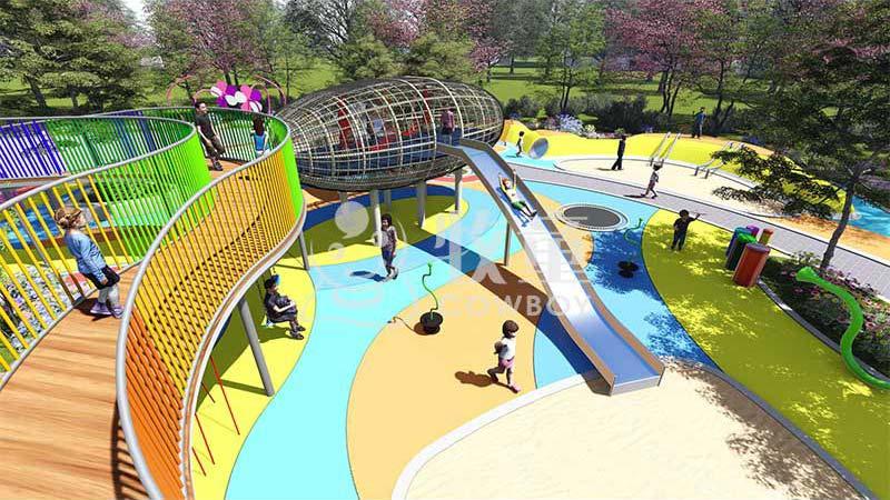 无动力儿童乐园设施|户外儿童乐园设计