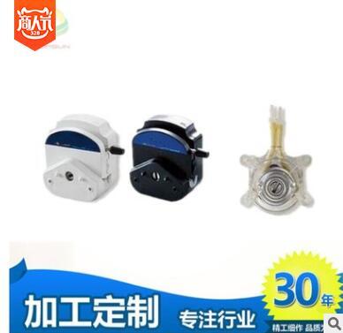 可OEM定制醫療儀器配57電機結構精巧小流量液體傳輸用蠕動泵