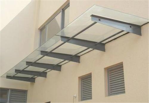 宝鸡钢结构玻璃雨棚制作-西安好用的宝鸡玻璃雨棚