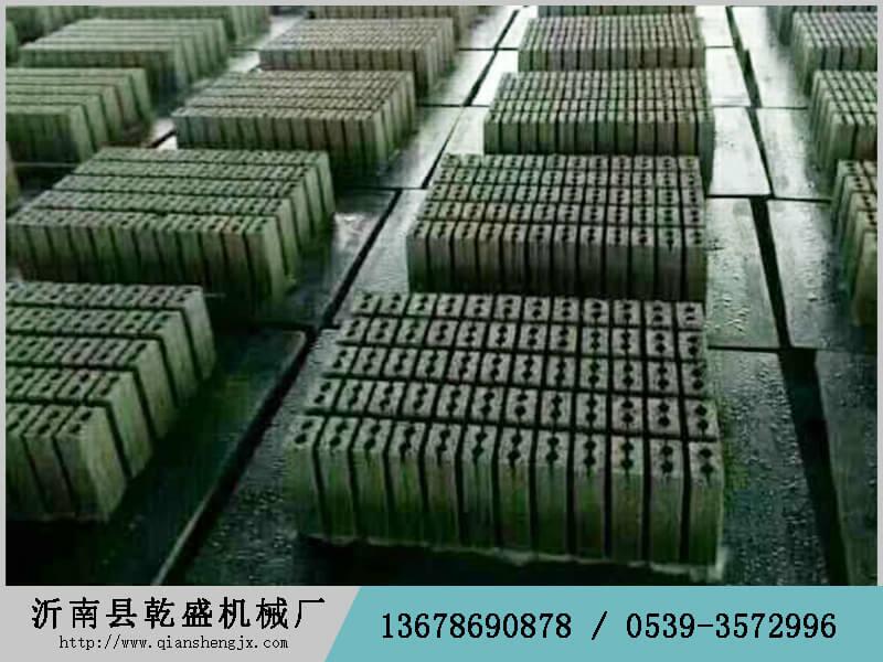 砖机纤维托板尺寸_沂南县乾盛机械_专业的纤维砖机托板提供商