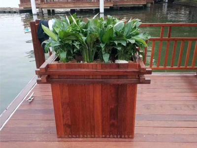 花箱花盆廠家-價格實惠的木質花箱出售