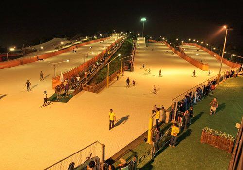 旱雪滑道廠家-哪里能買到旱地滑雪設備