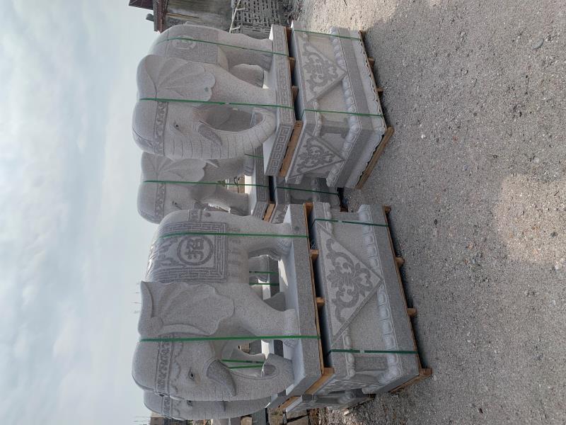 泉州惠安招财大象哪家好,厂家直销,福建石雕