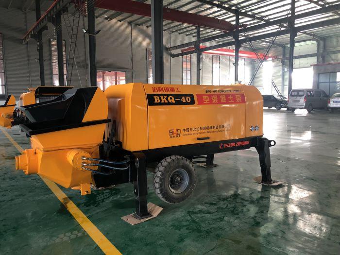 液压混凝土砂浆泵-专业可靠的细石混凝土泵-泊科琪机械制造倾力推荐
