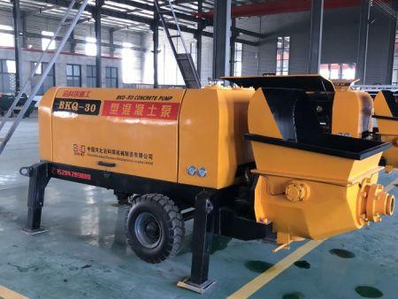 细石混凝土输送泵公司