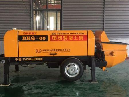 西藏农建泵-泊科琪机械制造价格划算的农建混凝土拖泵出售