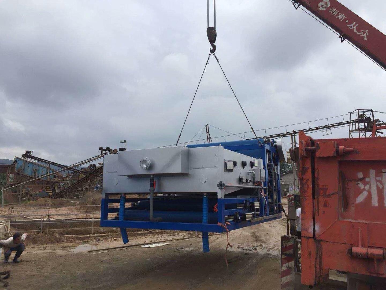 帶式濃縮一體機-艾躍森環保帶式壓濾機廠家直銷