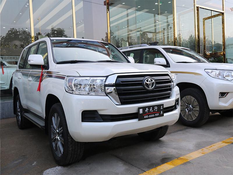 丰田46004s店-买质量好的丰田酷路4600汽车当然是到河南开元行汽车销售了