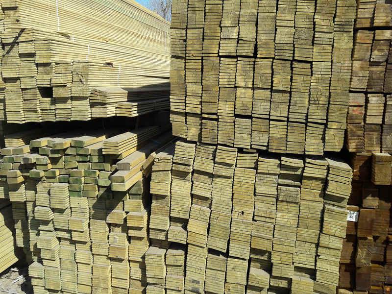 鑫升碳化木-口碑好的防腐木供应