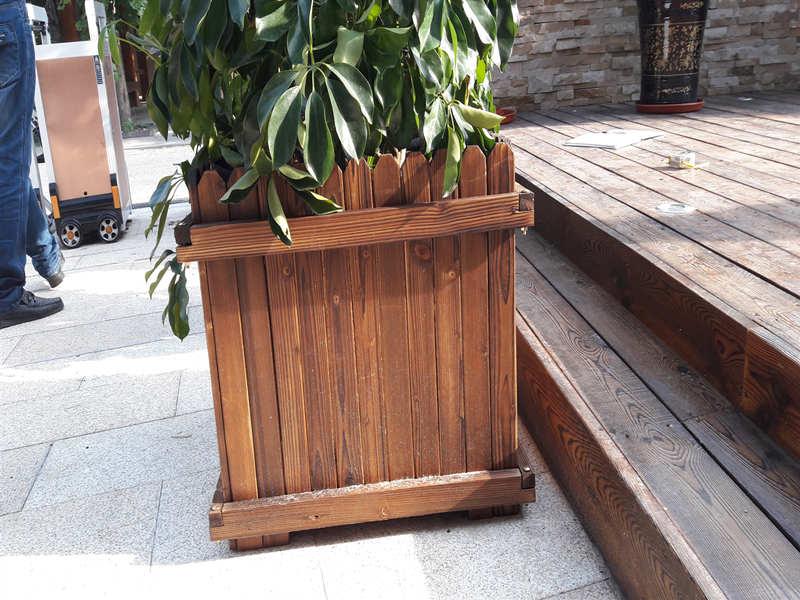 公园仿古花架-要买户外园林小品上哪