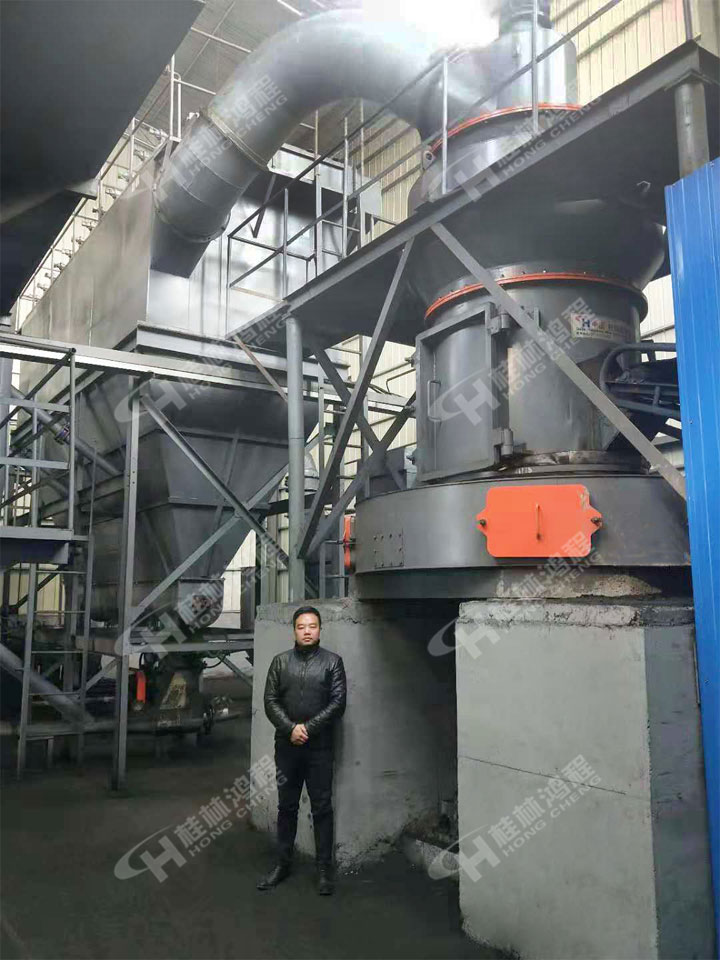 鉆井級膨潤土制粉機4R4121雷蒙磨