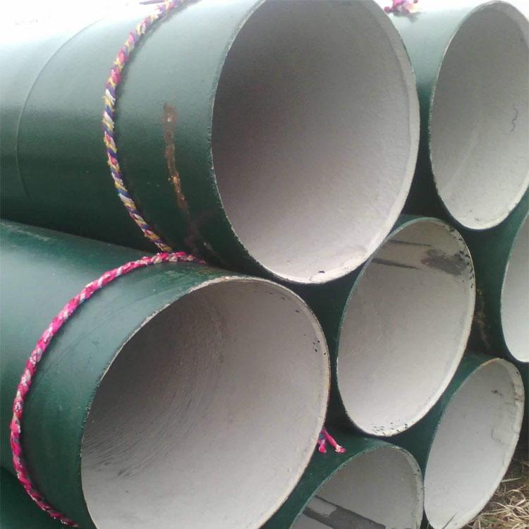 污水專用水泥砂漿防腐鋼管廠家供應