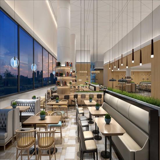 河南鄭州高校餐廳裝修設計 河南校園餐廳裝修設計公司哪家好