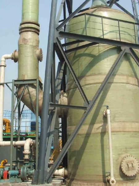 玻璃钢酸雾净化塔厂家、玻璃钢酸雾净化塔价格、霆旗专业生产
