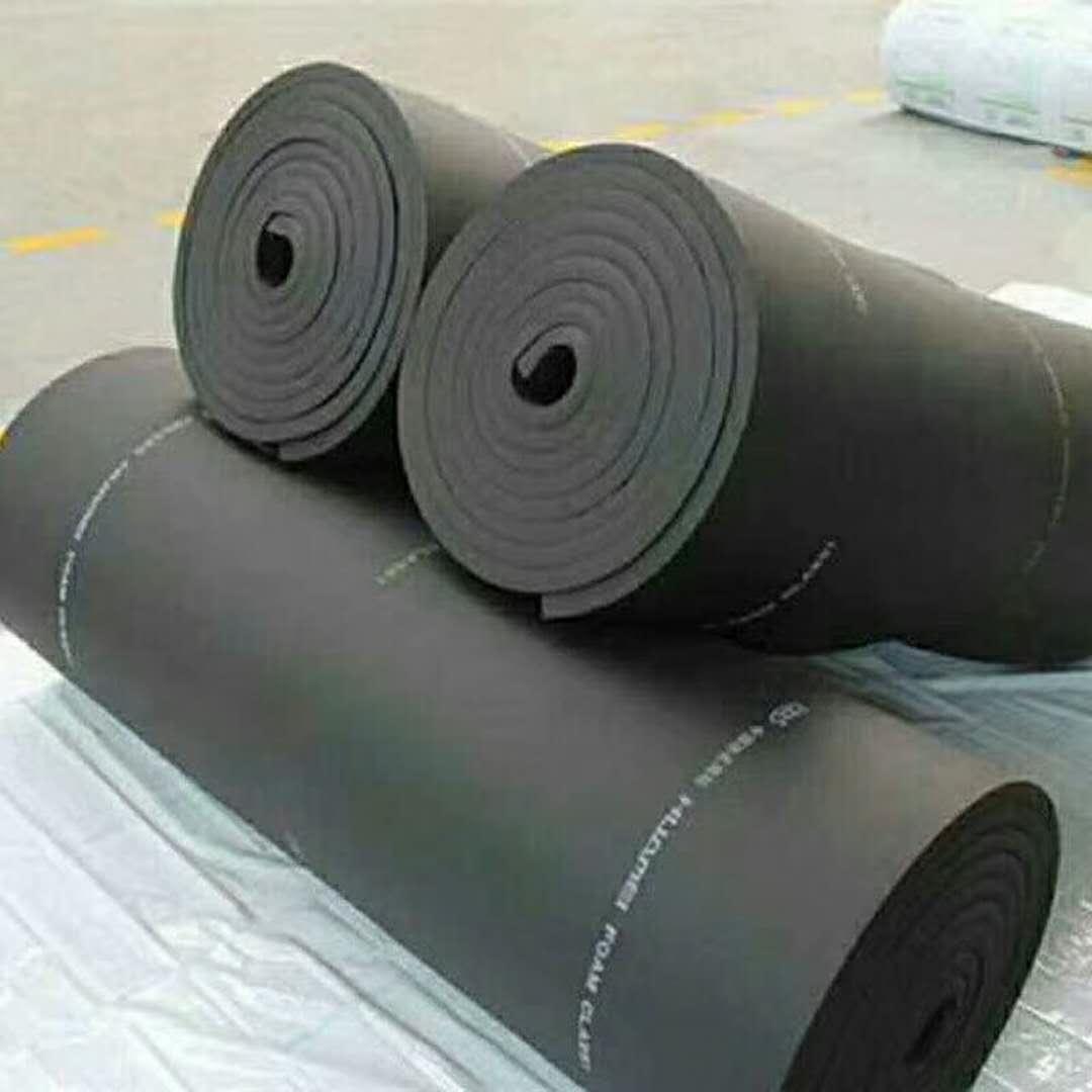 畅销的橡塑海绵保温板厂家批发价格 B1橡塑海绵保温板