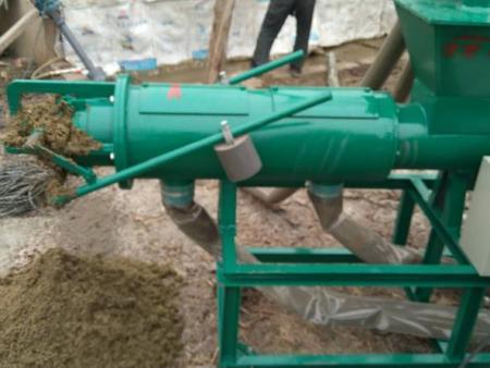 固液鸡粪分离机猪粪脱水机 不锈钢粪便脱水处理设备a