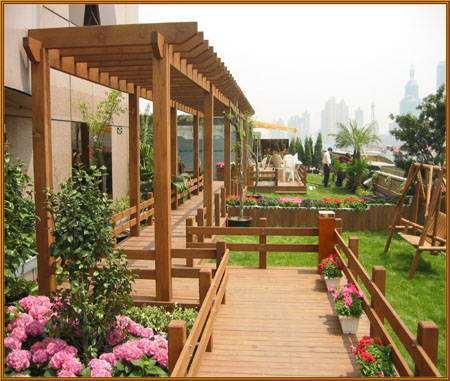 霍尔果斯防腐木花架厂家推荐-想要购买高品质的新疆防腐木花架找哪家