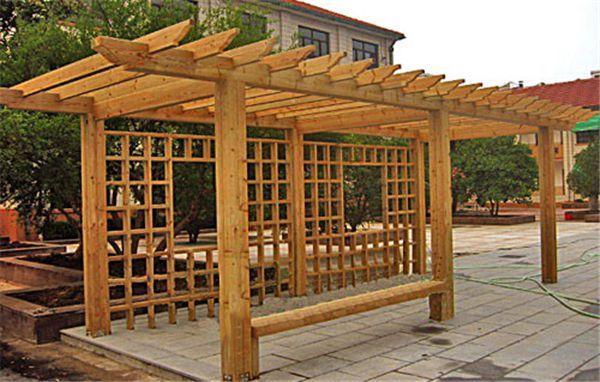 霍尔果斯防腐木廊架|在哪能买到质量不错的新疆防腐木廊架呢