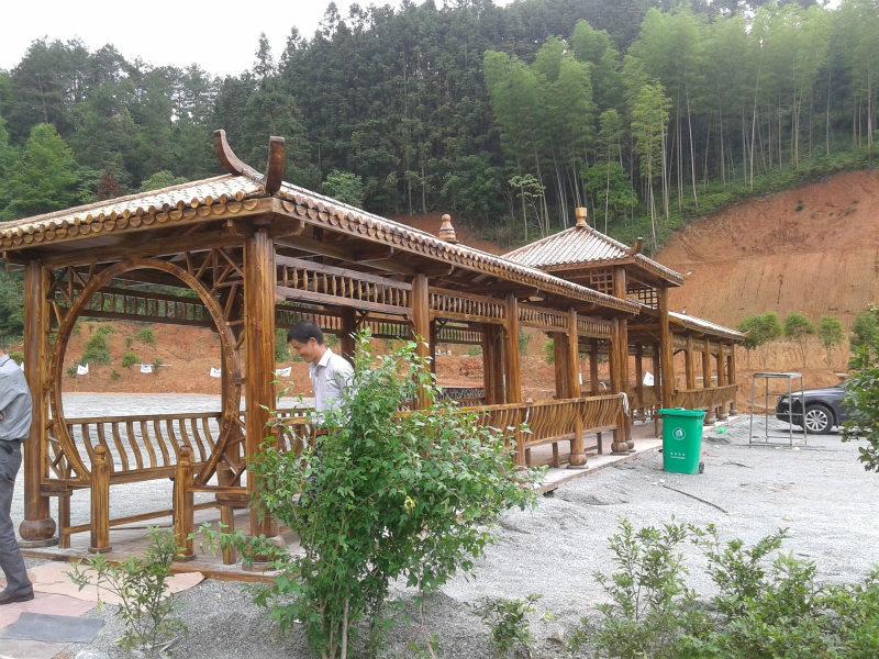 霍尔果斯防腐木走廊多少钱_伊犁哈萨克自治州品牌新疆防腐木廊架供应商