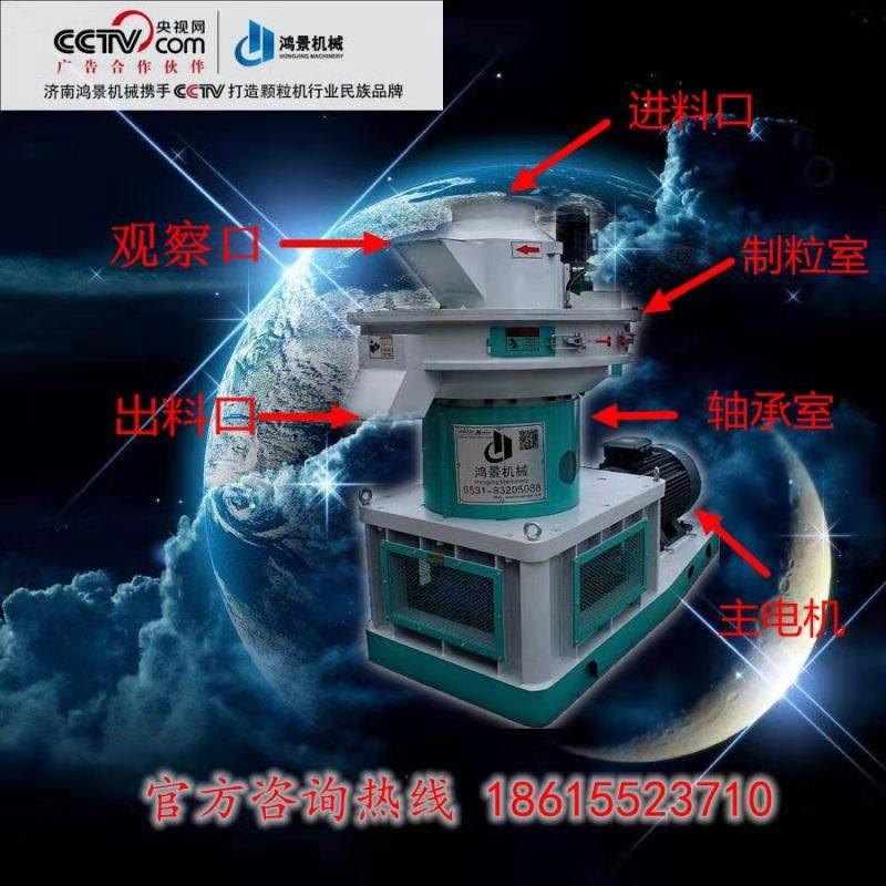 山東鴻景環模生物質顆粒機,山東生物質顆粒機廠家