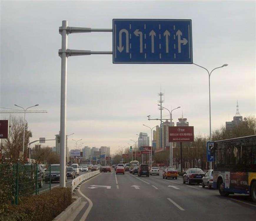 云南公路標志桿-鄭州哪有賣質量好的道路標志桿