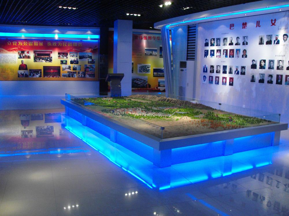 奎屯地形地貌沙盘设计_三维视觉模型_专业的新疆地形沙盘公司